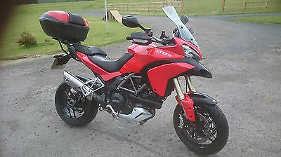 Ducati Multistrada 1200 ABS 2014 With full luggage