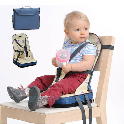 Baby Toddler Travel Dining Feeding Foldable High Chair Booster Seat Portable