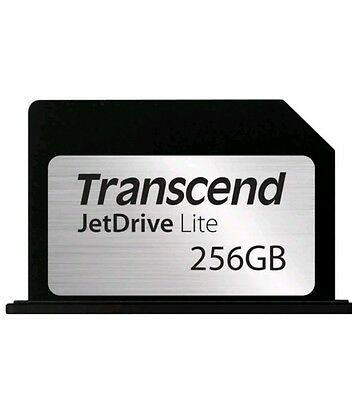 Transcend 256GB JetDrive Lite 330 Storage Expansion Card for Macbook Pro 13''