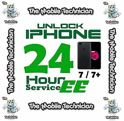 Unlock For Iphone 7 6 6S 5 5S 5 Plus Ee Express Unlocking Service Code Next Day