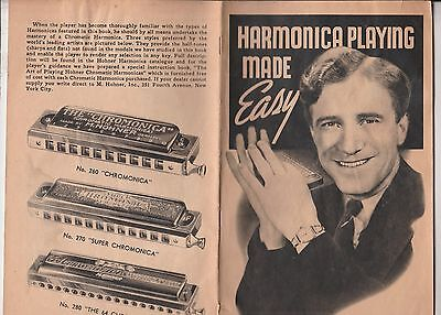 Hohner  2  Manuals-Harmonica Playing Made Easy & The Abc Of Harmonica Playing