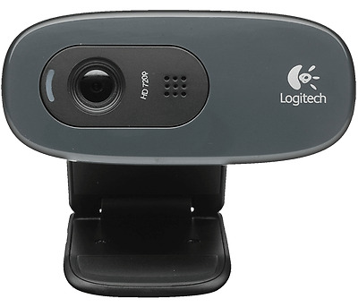 Logitech LOGITECH WEBCAM HD C270 USB 3MPX 1280X720 FLUID CRYSTAL MICROFONO INCOR