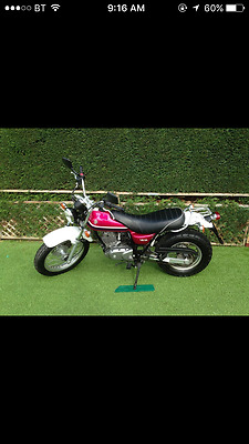 Suzuki van van 125 motor bike 2009 model 4k on clock