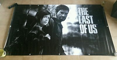 PLV Banner The Last of Us - Official and Very Rare Merchandising - V3