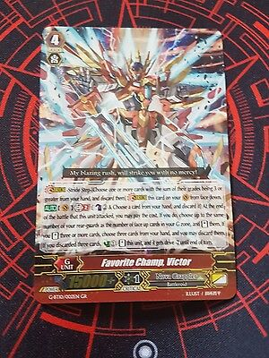 Cardfight Vanguard Card: Favorite Champ, Victor - G-Bt10/002En Gr