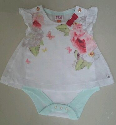 Ted Baker Baby Girls Summer All In One 3/6 Months