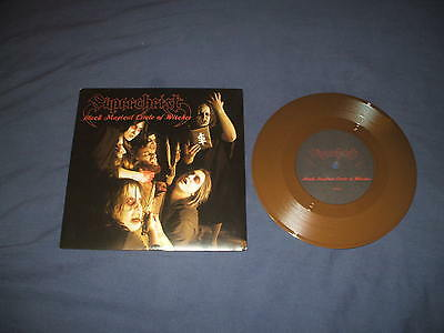 SUPERCHRIST - Black Magical circle of Witches new brown vinyl ep. Sabbat metal