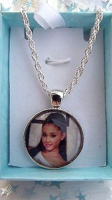 Ariana  Grande  Singer Necklace Dance Pop Music Gift Boxed Age 5, 6,7,8,9,10,11Y