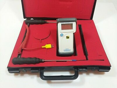 TPI 358 Type K Digital Thermometer with Carry Case