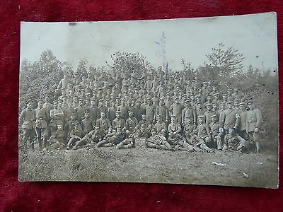 1917 German Photo/Feldpost-soldiers from a Pioneer company with a nice sign(306)