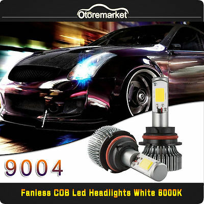 9004 HB1 CREE COB LED Headlight Kit for Chevy Buick Nissan High Low Beam 120w