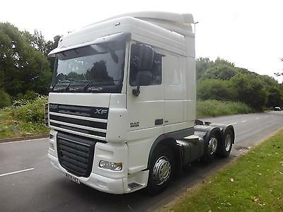 Daf 105 Xf 460 Space Cab 6X2 59 Plate Tractor Unit