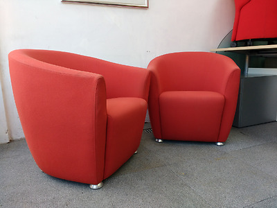 Pair of Tub Chairs by Davison Highly Price Includes VAT