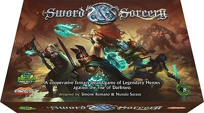Sword and Sorcery Board Game Kickstarter Edition Immortal Pledge (All in)