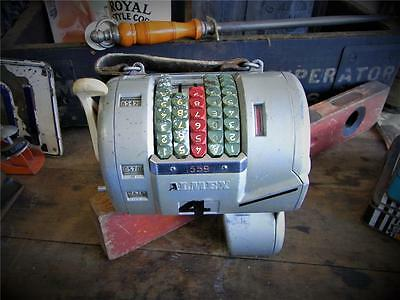Old Almex Ticket Machine Made In Sweden