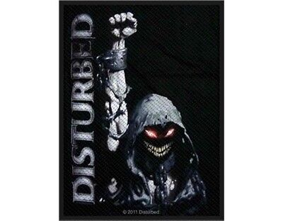 DISTURBED eyes 2012 - WOVEN SEW ON PATCH official merchandise (sealed)