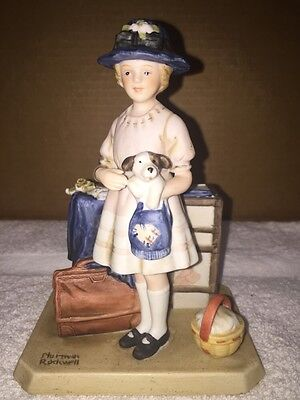 Norman Rockwell The Innocence Of Youth Collection Vacations Over Figurine