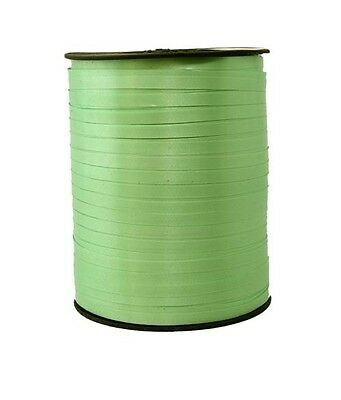 Gift Ribbon 10mm x 250m Polyband ribbon green Ring tape