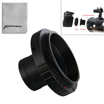"T T2 Ring for Canon EOS Camera DSLR Lens Adapter 1.25"" Telescope Mount DC615"