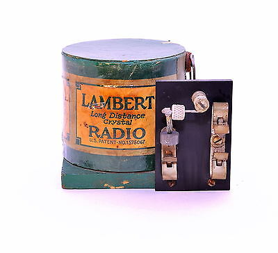 Lambert Long Distance Crystal Radio
