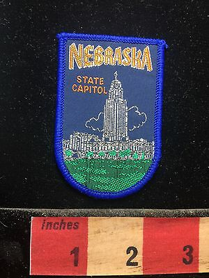 Patch ~ Capital City Lincoln NEBRASKA State Capitol Building Government 71C2