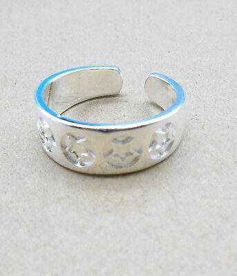 925 Solid Sterling Silver Plated Women/Men NEW Fashion Ring Gift SIZE OPEN HJ215