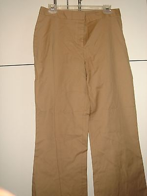 MOSSIMO TAN Khaki Pants Stretch Women's Cotton/Lycra Spandex Blend Target Sz 10