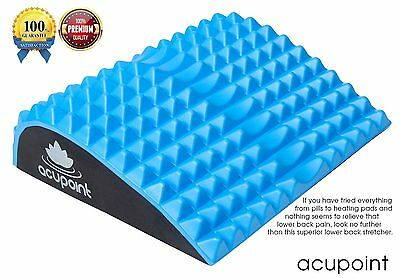 Lower Back Stretcher with Acupressure Nubs by For Lumbar Support