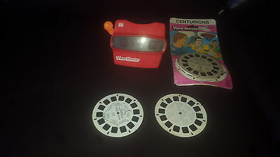 ViewMaster 3D with Centurions 3 reels new in package + 2 other reels