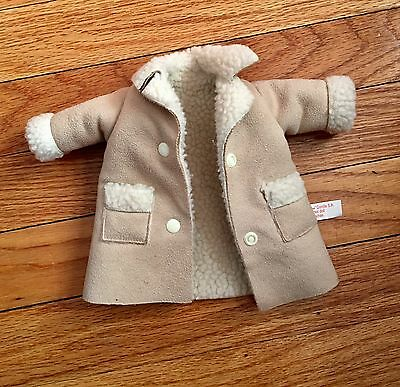 Les Cheries Corolle Suede Autumn Coat Toddler Doll 14 Inches