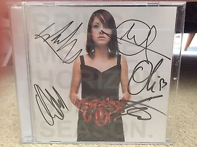 Signed Bring Me The Horizon Cd. Oil Sykes. Drop Dead. Suicide Season Cd.