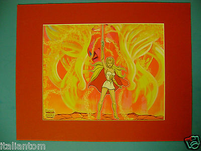 She-Ra She Ra He-Man He Man Princess Matted Cel Cell Animation Art