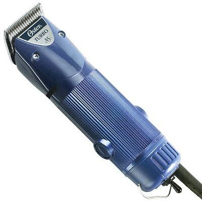 OSTER Turbo A5 078005-314 Blue 2-Speed Professional Animal Clippers Kit