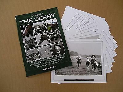 3 x The Epsom Derby Legends Portfolio containing 20 A4 Prints