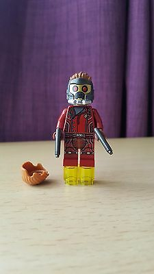 Lego Marvel Super Heroes Star Lord Minifigure Set 76021