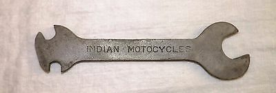 Indian Motorcycles Wrench - Combo Open End Tool Collectible Tools Free Shipping!