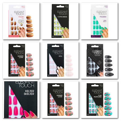 Elegant Touch False Nails Limted Edition - Choose Your Shade