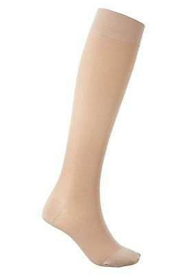 Unisex Sigvaris Comfort Calf Compression Open toe Stockings Large CS077 AA 18