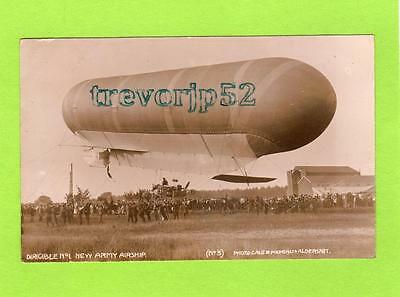 Dirigible No 1 New Army Airship RP pc used 1908  Gale & Polden Aldershot