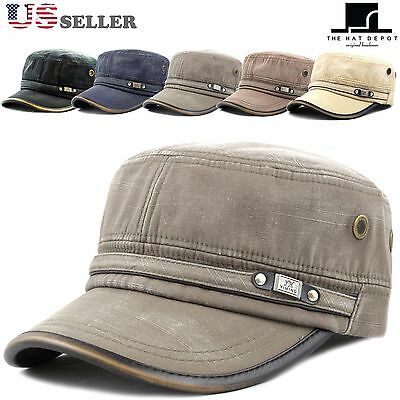62a910c4 WOMEN'S WASHED COTTON Cadet Cap Military Army Hat - $12.99 | PicClick