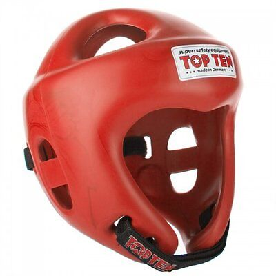 Top Ten Fight Head Guard Olympia - Red