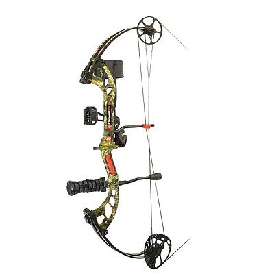 PSE Archery Stinger X 2017 RTS Compound Bow Kit Country Right Hand 55-70#