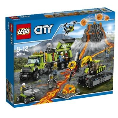 Lego City Volcano Forscherstation 60124