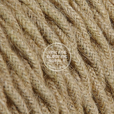 Jute Twisted Cloth Covered Electrical Wire - Braided Fabric Wire