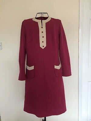 Vintage 1960's Mod/ Go Go Dress Size 12