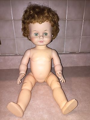 """Vintage 1958 Madame Alexander Doll 23"""" Kathleen Made Only One Year"""
