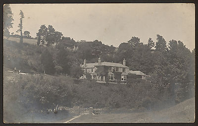 South Devon. Charleton - Charleton Rectory - Vintage Real Photo Postcard