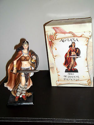 Legends And Dreams Agiana The Warrior Princess Statue Boxed New