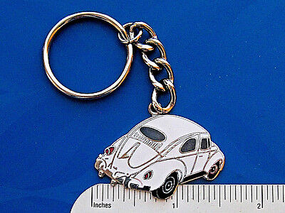 VOLKSWAGEN BEETLE Oval Window - keychain GIFT BOXED