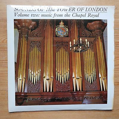 """Sounds of HM Tower of London Vol 2 - Music from Chapel Royal 7"""" EP (1968) Ex/Ex"""